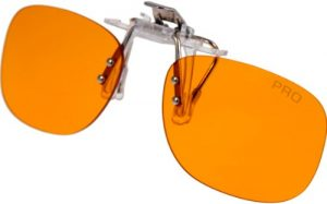 PRiSMA CLiP-ON Blaulichtfilter Brille